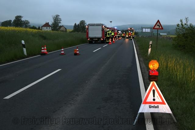 Technische Hilfeleistung - Verkehrsunfall
